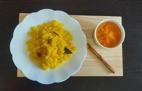 Как приготовить рис с куркумой